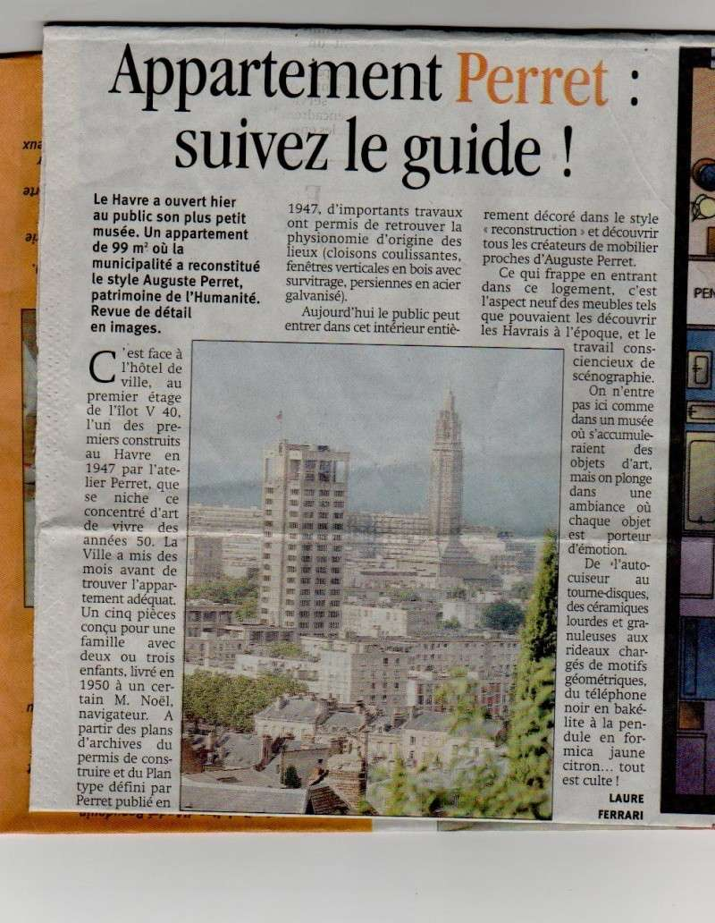 Le Havre - L'appartement témoin Perret Appart13