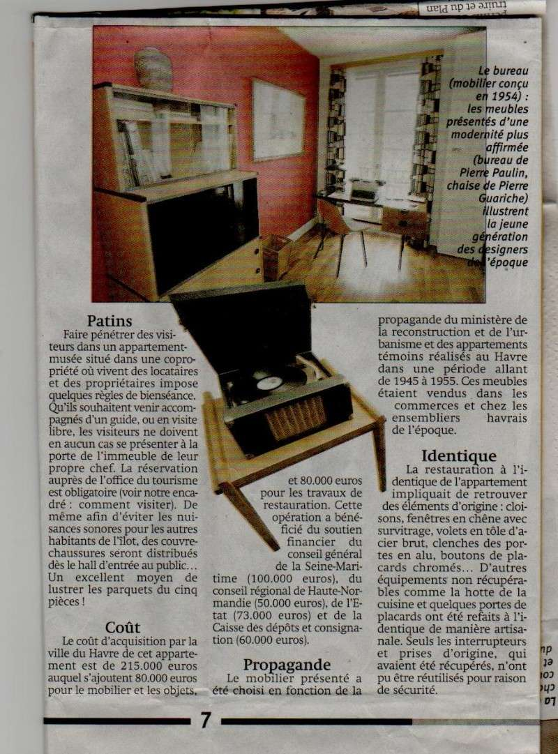 Le Havre - L'appartement témoin Perret Appart15