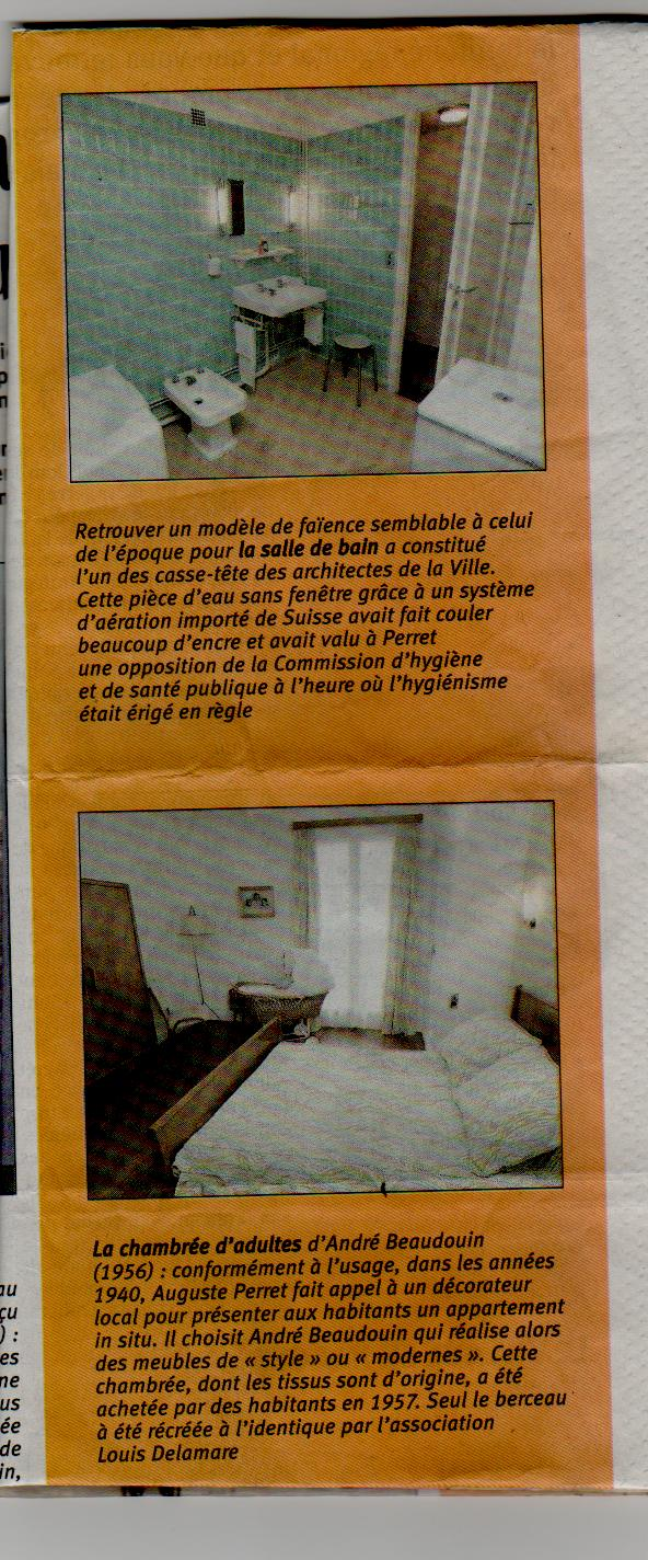 Le Havre - L'appartement témoin Perret Appart16