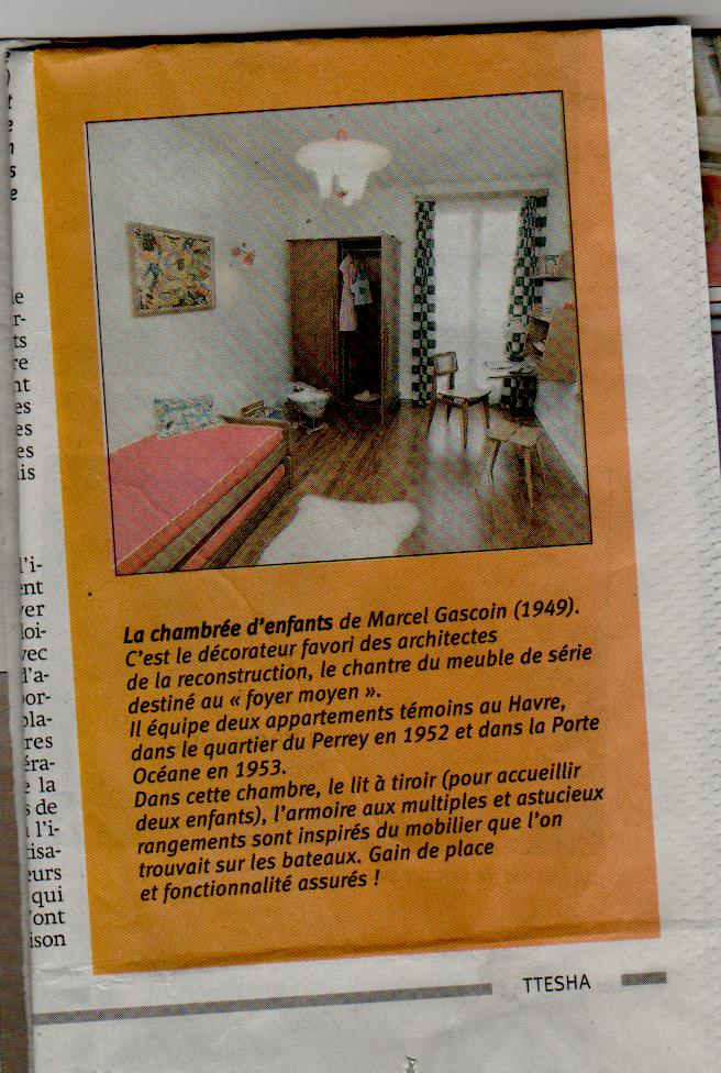Le Havre - L'appartement témoin Perret Appart17