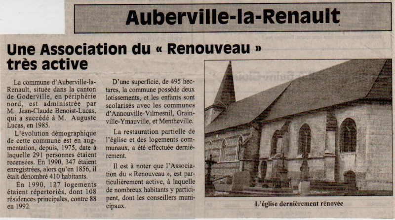 Histoires des communes - Auberville-la-Renault Auberv10