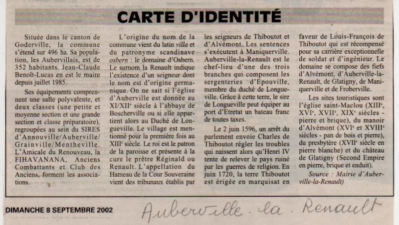 Histoires des communes - Auberville-la-Renault Auberv11