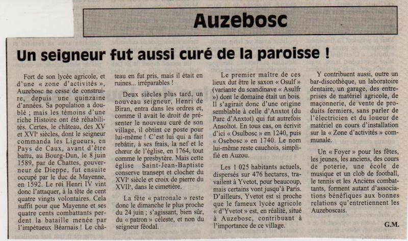Histoire des communes - Auzebosc Auzebo10