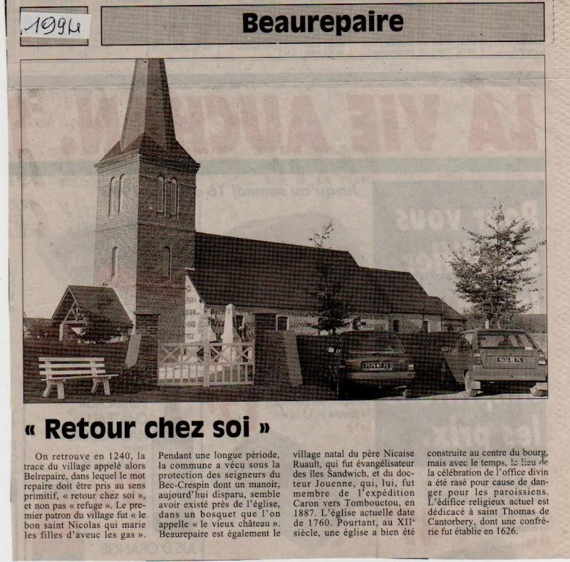 Histoire des communes - Beaurepaire Beaure10