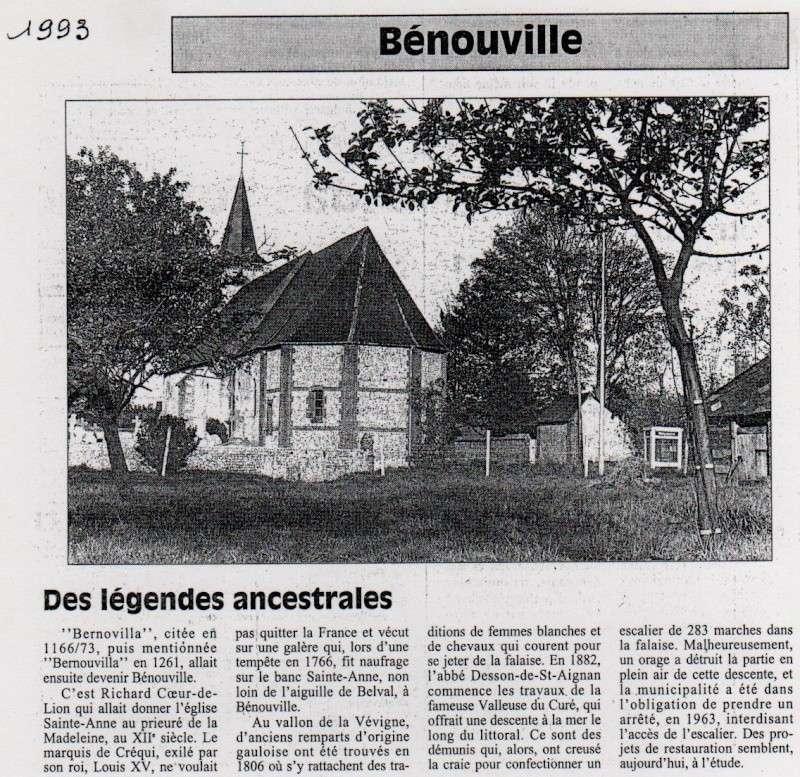 Histoire des communes - Bénouville Benouv11