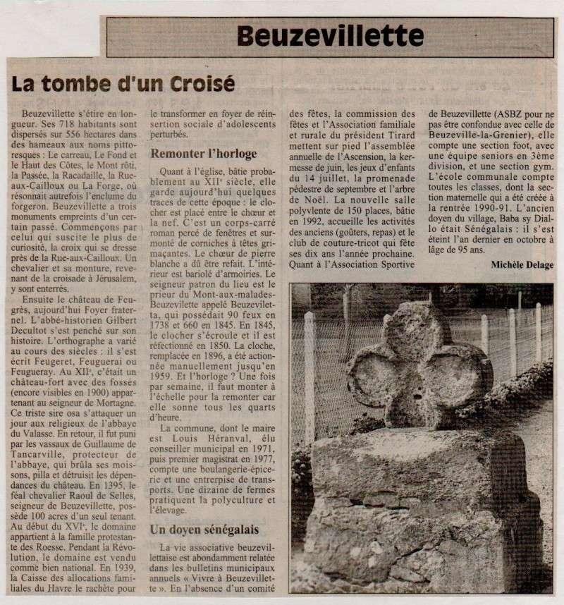 Histoire des communes - Beuzevillette Beuzev10