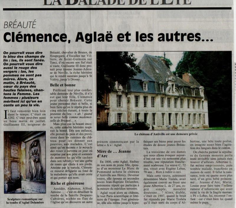 Histoire des communes - Bréauté Breaut13