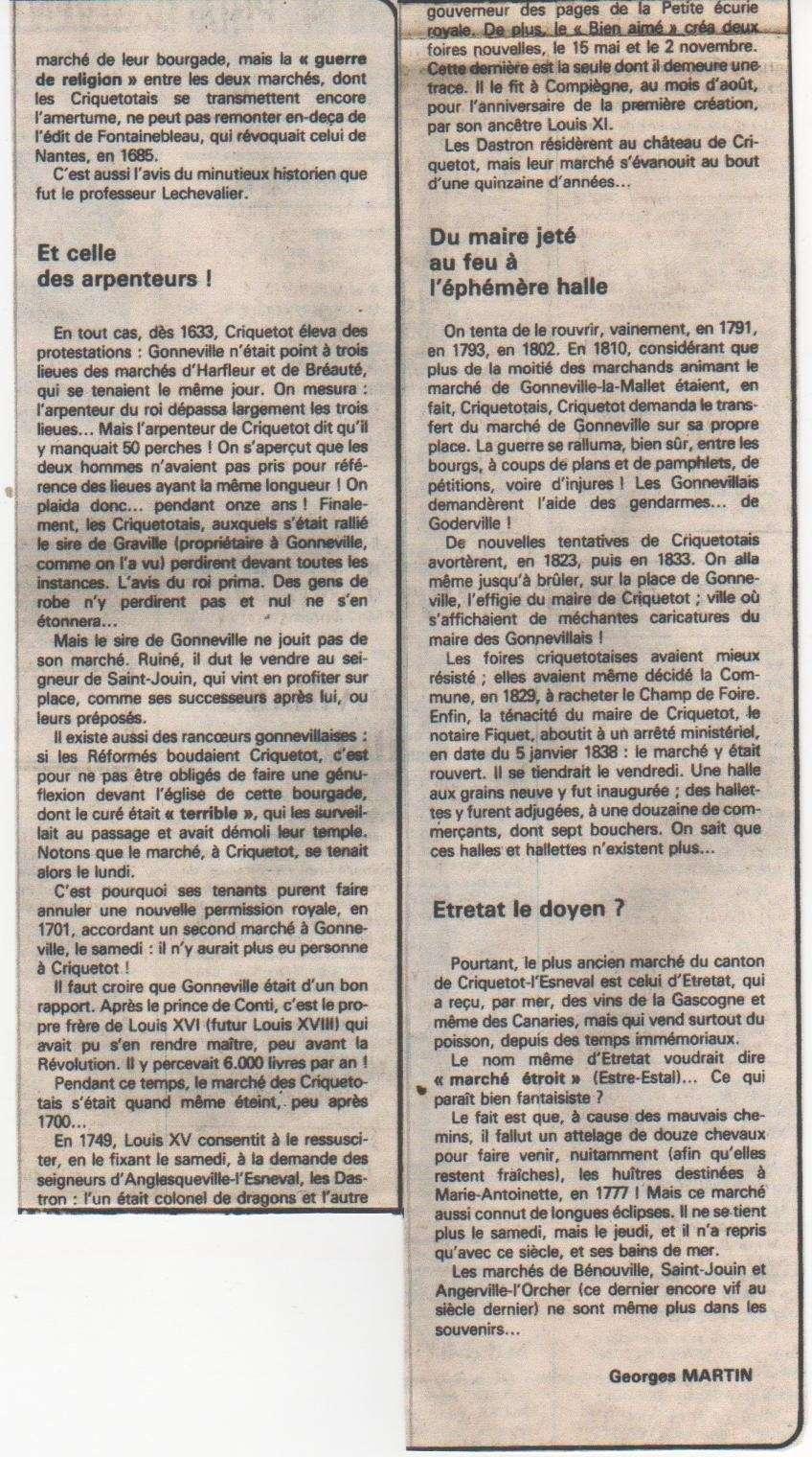 criquetot - Histoire des communes - Criquetot-l'Esneval Crique15