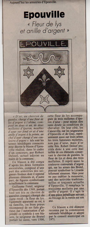 Histoire des communes normandes - Epouville Epouvi13