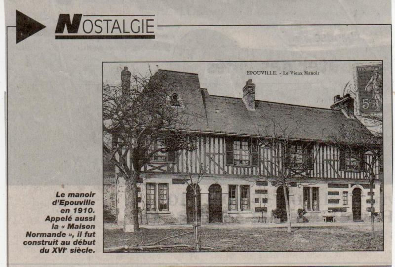 Histoire des communes normandes - Epouville Epouvi14