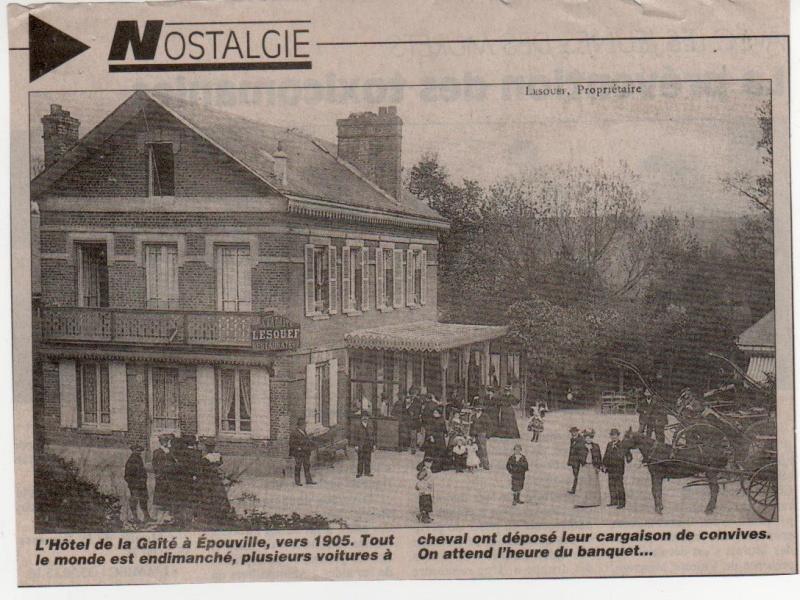 Histoire des communes normandes - Epouville Epouvi15
