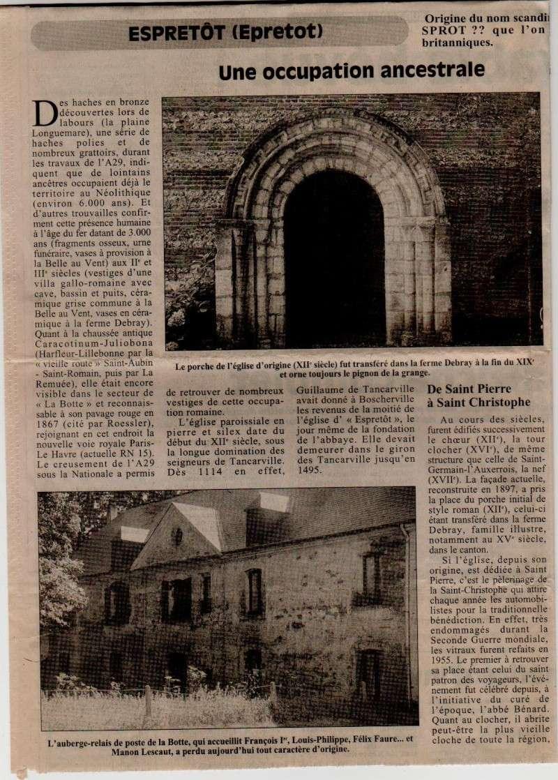 Histoire des communes - Epretot Epreto10