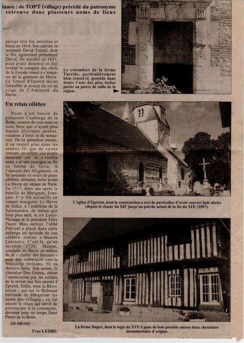 Histoire des communes - Epretot Epreto11