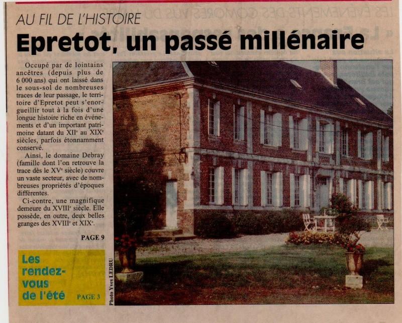 Histoire des communes - Epretot Epreto13