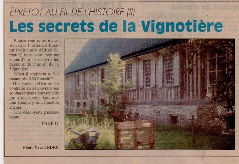 Histoire des communes - Epretot Epreto14