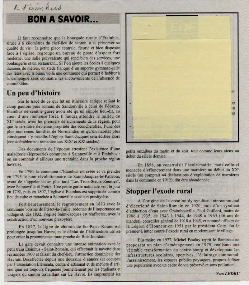 Histoire des communes - Etainhus Etainh10