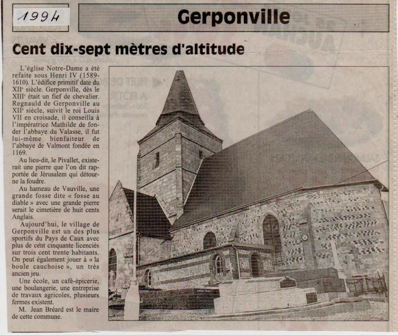 Histoire des communes - Gerponville Gerpon10