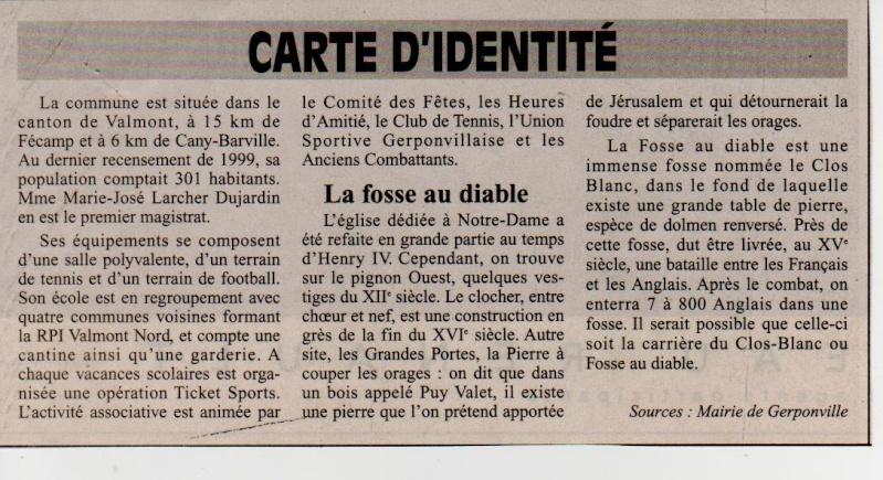 Histoire des communes - Gerponville Gerpon11