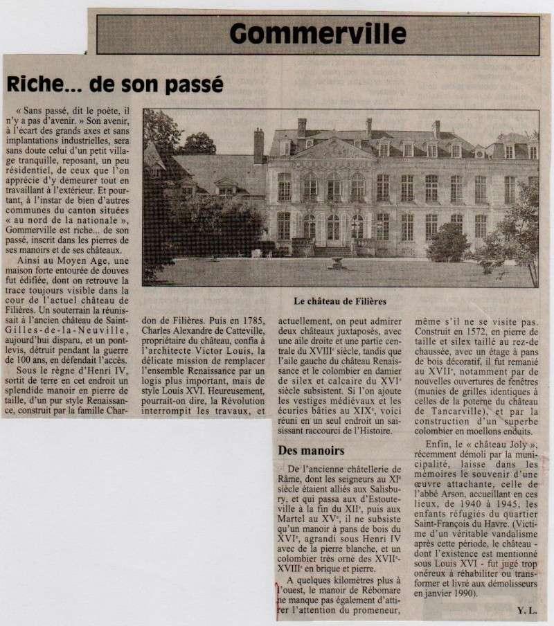 Histoire des communes - Gommerville Gommer10