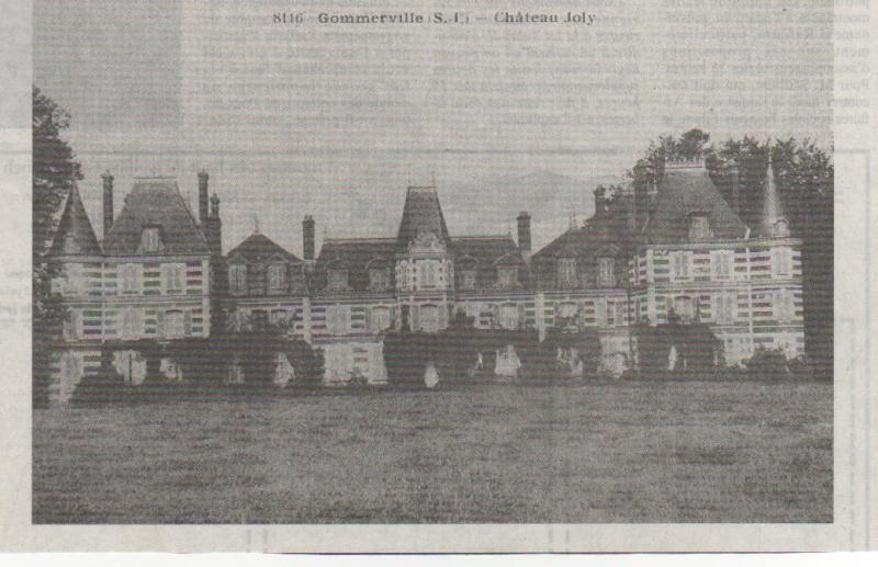 Histoire des communes - Gommerville Gommer11
