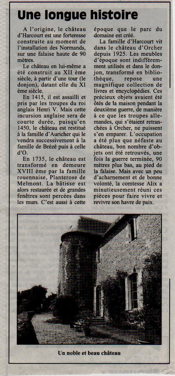 Histoire des communes - Gonfreville l'Orcher Gonfre11