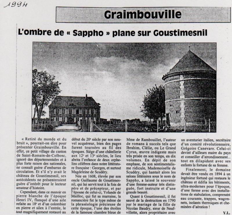 Histoire des communes - Graimbouville Graimb15