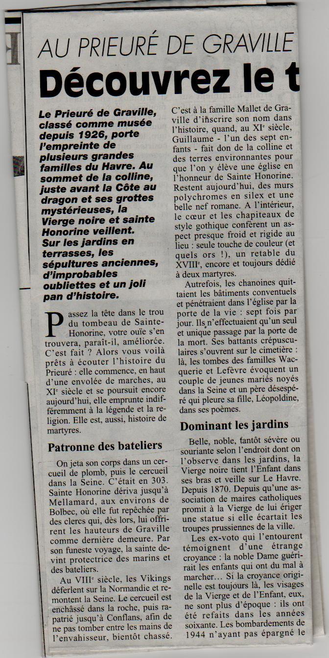 Histoire des communes - Le Havre-Graville Gravil14