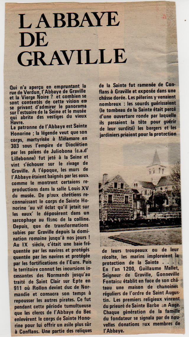 Histoire des communes - Le Havre-Graville Gravil20