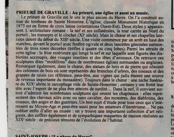 Histoire des communes - Le Havre-Graville Gravil24