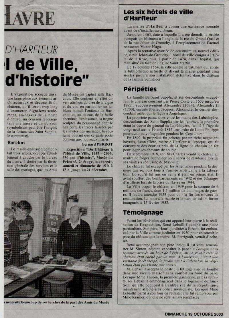 Histoire des communes - Harfleur Harfle11