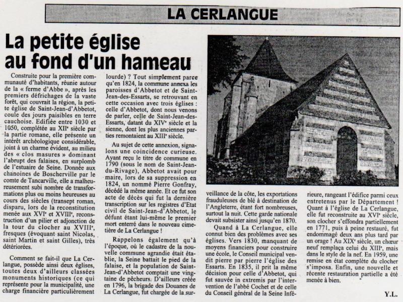 Histoire des communes - La Cerlangue La_cer11