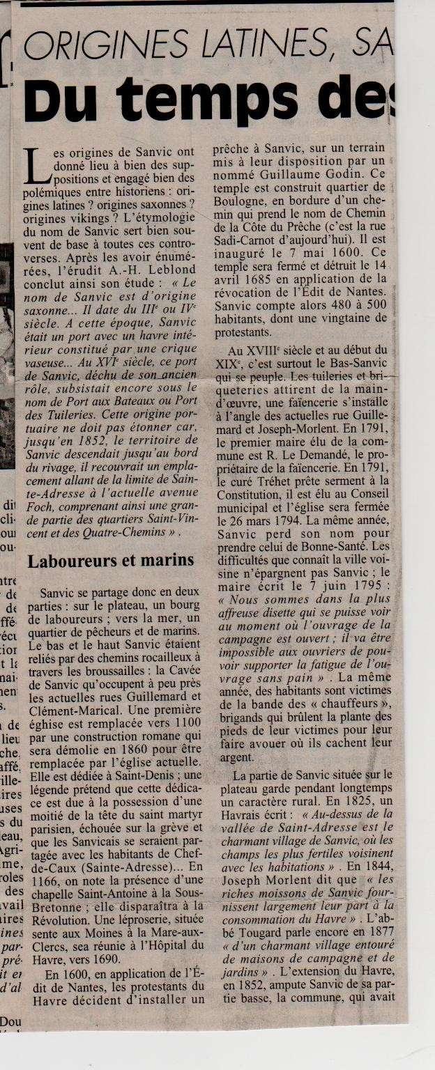 Histoire des communes - Le Havre - Sanvic Le_hav13