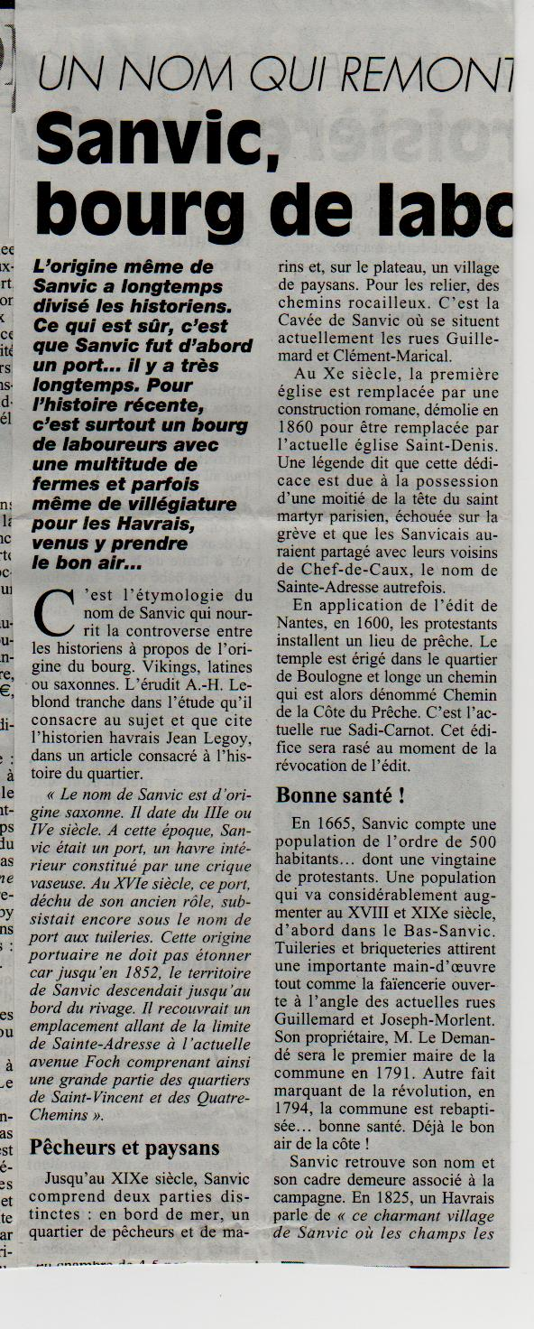 Histoire des communes - Le Havre - Sanvic Le_hav15