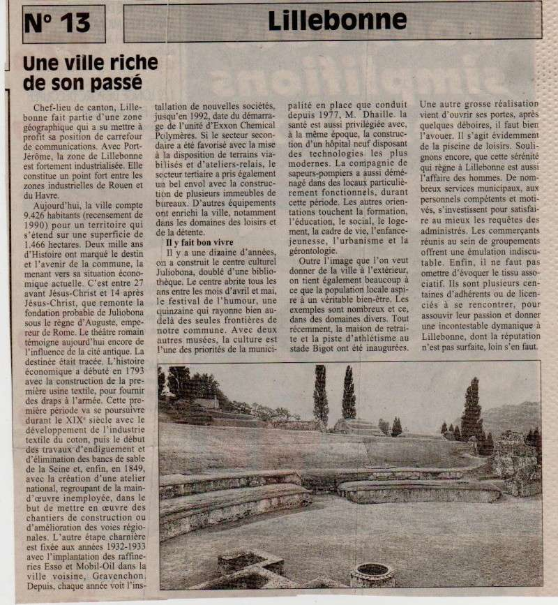 Histoire des communes - Lillebonne Lilleb12