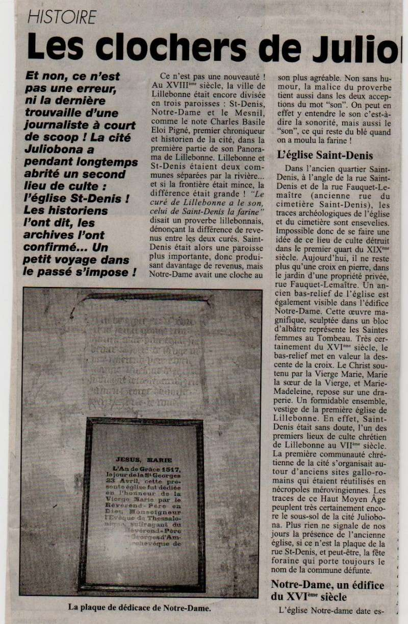 Histoire des communes - Lillebonne Lilleb19