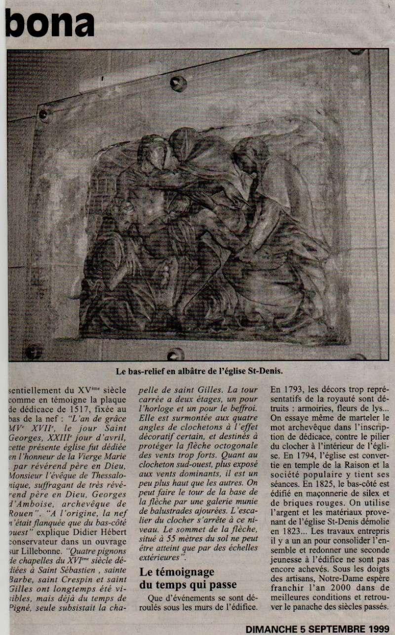 Histoire des communes - Lillebonne Lilleb20