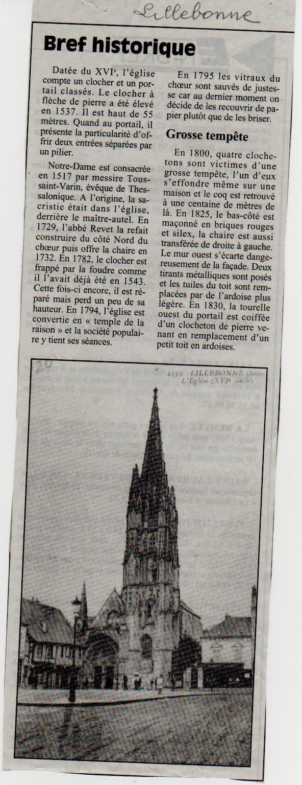 Histoire des communes - Lillebonne Lilleb24