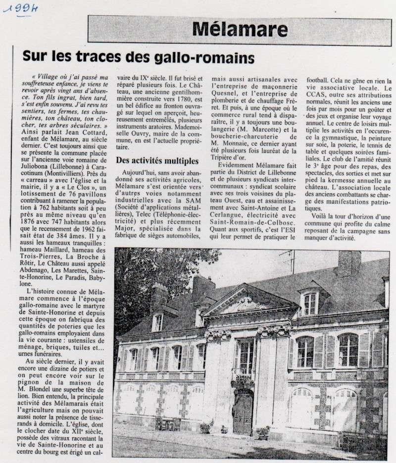 Histoire des communes - Mélamare Melama10