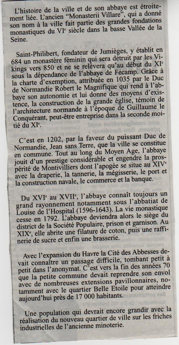 Histoire des Communes - Montivilliers Montiv10