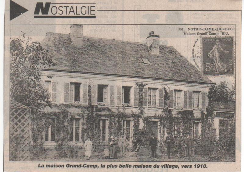 Histoire des communes - Notre-Dame du Bec Notre-12