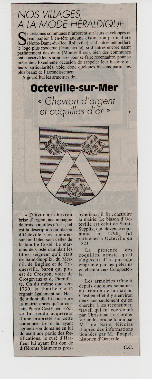 Histoire des communes - Octeville-sur-Mer Octevi15
