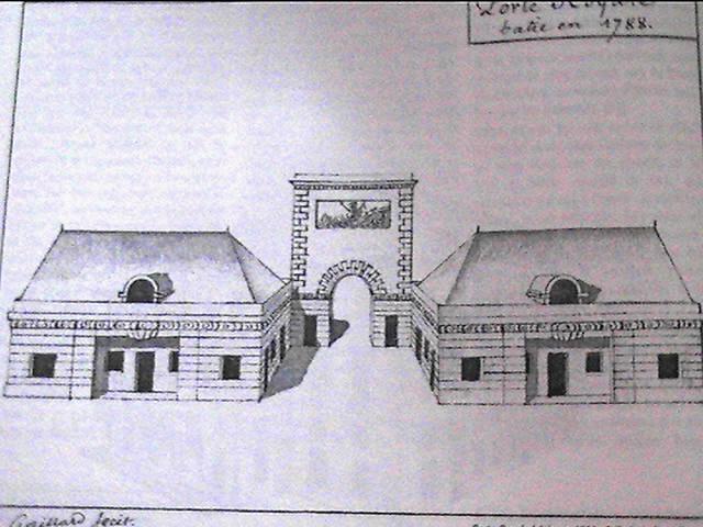 1788 - La porte Royale, Fresnel ... Portes21