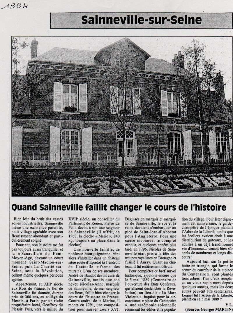 Histoire des communes - Sainneville Sainne11