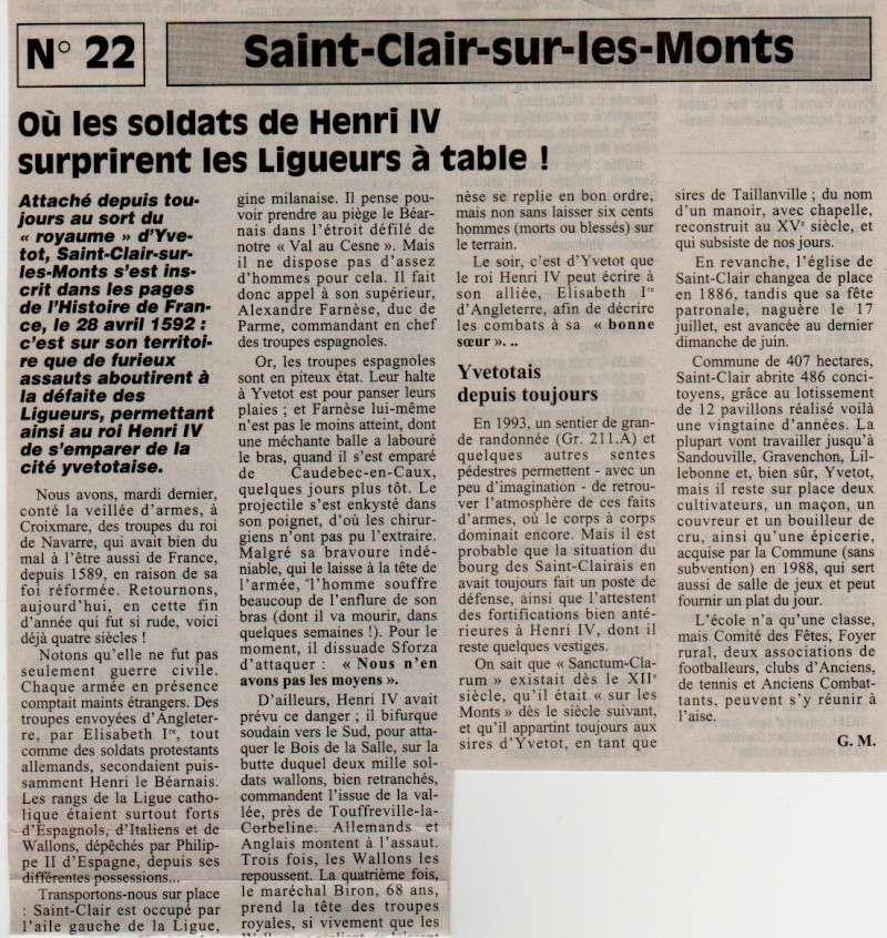 Histoire des communes - Saint-Clair-sur-les-Monts Saint-15