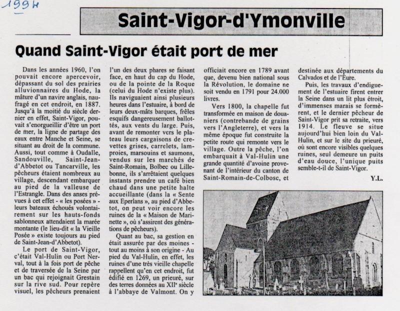 Histoire des communes - Saint-Vigor-d'Ymonville Saint-21