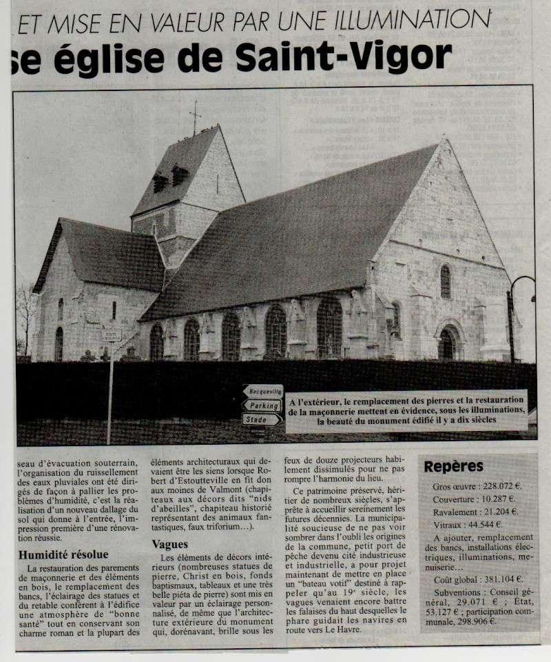 Histoire des communes - Saint-Vigor-d'Ymonville Saint-23