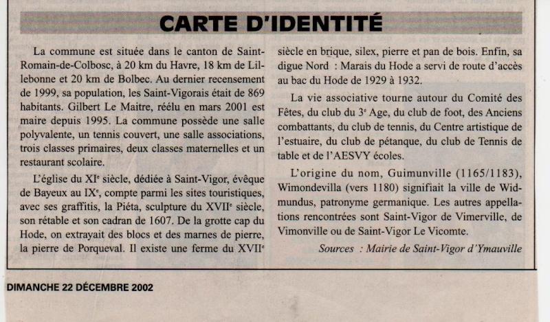 Histoire des communes - Saint-Vigor-d'Ymonville Saint-24
