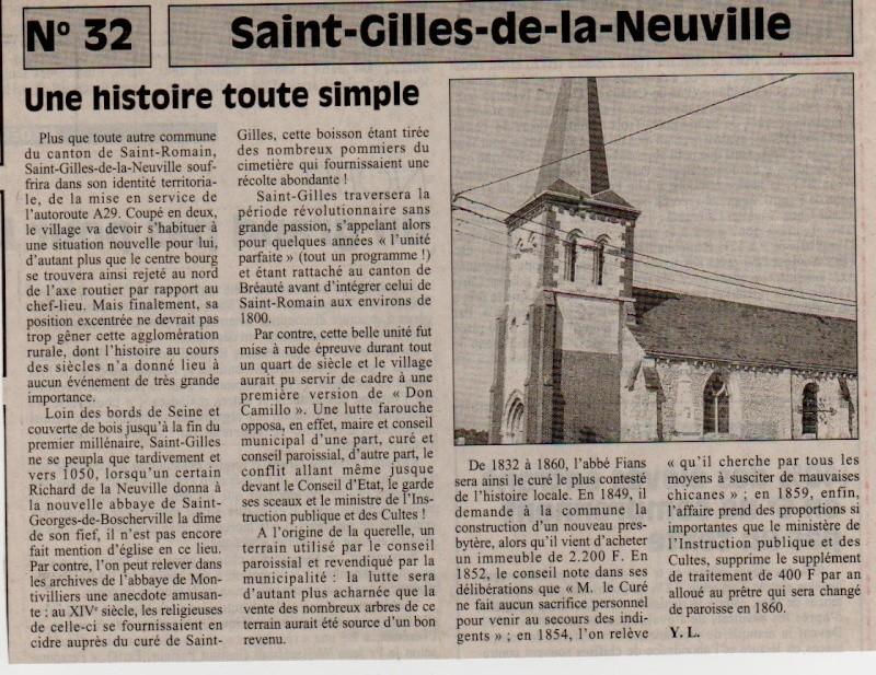 Histoire des communes - Saint-Gilles-de-la-Neuville Saint-26
