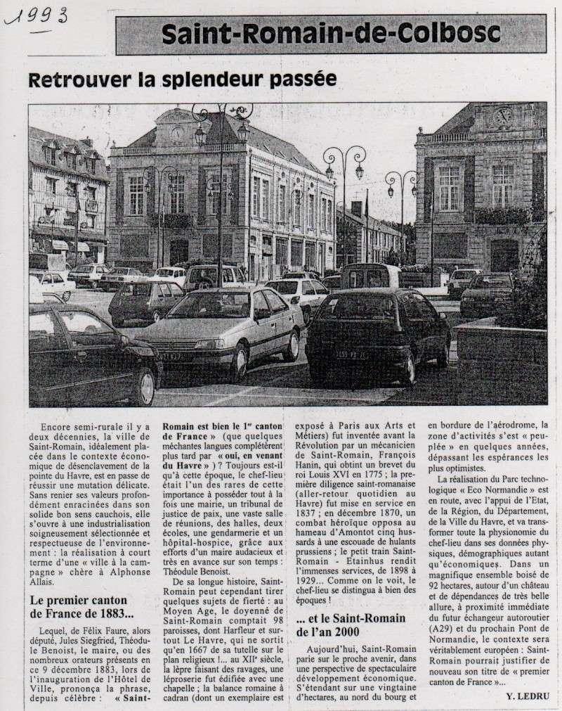 Histoire des communes - Saint-Romain-de-Colbosc Saint-28