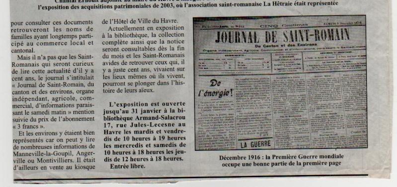 Histoire des communes - Saint-Romain-de-Colbosc Saint-35